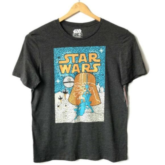 NWT STAR WARS Disney Graphic T-shirt Short Sleeve